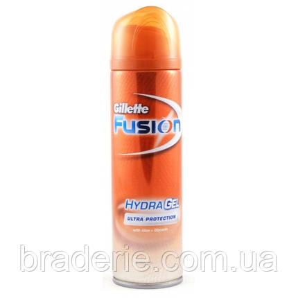 Гель Gillette Fusion для жестких волос 200ml, фото 2