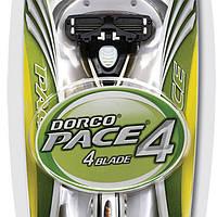 Бритва Dorco Pace 4 + 2 сменных кассеты (3013)