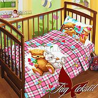 Детская постель для новорожденных Tag Детство, Розовый