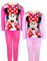 Пижама для девочек Disney (MIN-G-PYJAMAS-118)на 3,4.5.6 лет