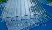 Стільниковий полікарбонат Novattro 8 мм, прозорий