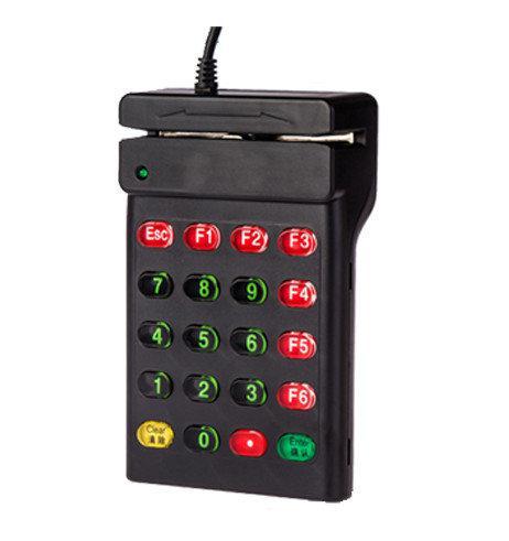 Пристрій для зчитування магнітних карт Netum NT-700 Black (NT-700)