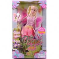 Кукла Jinni 30см, фея с крылышками, 83067