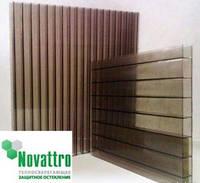 Сотовый поликарбонат Novattro 10 мм, бронза