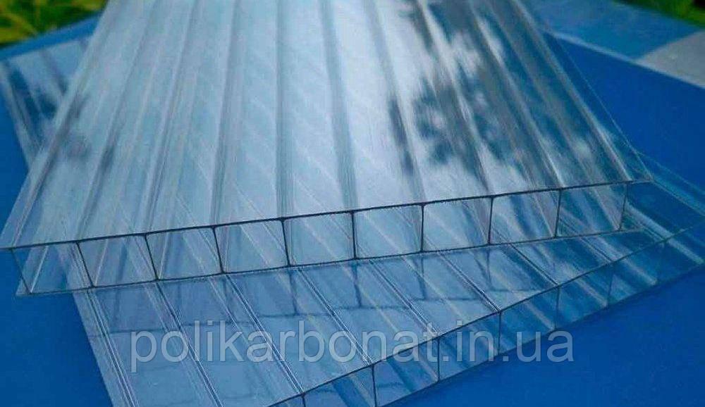 Сотовый поликарбонат Novattro 10 мм, прозрачный