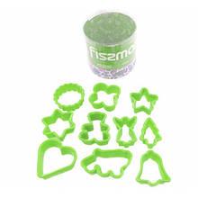 Набор формочек для печенья Fissman (Пластик)