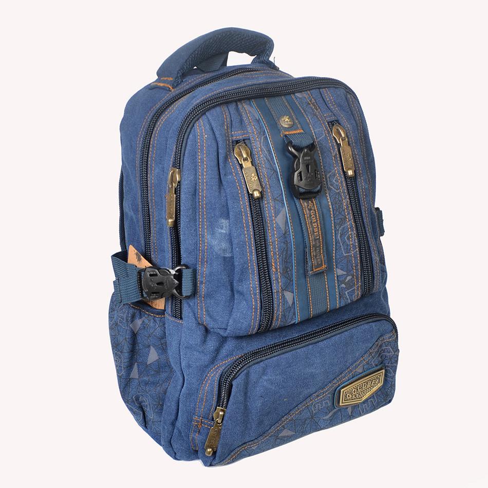 """Брезентовый рюкзак """"GOLD Be В756""""  (реплика)"""