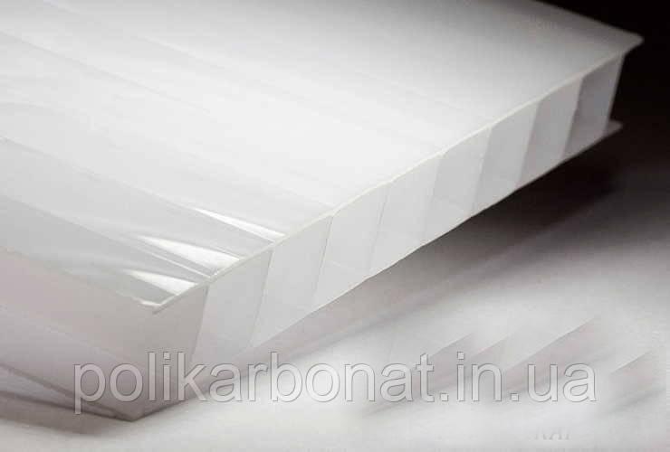 Стільниковий полікарбонат Novattro 10 мм, молочний