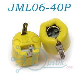 JML06-40P, конденсатор подстроечный, 12-40pF