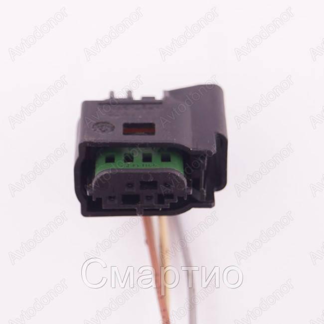 Разъем электрический 4-х контактный (18-9) б/у 1379799