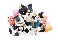 """Открытка с котятами """"Добрые сказки"""", фото 1"""