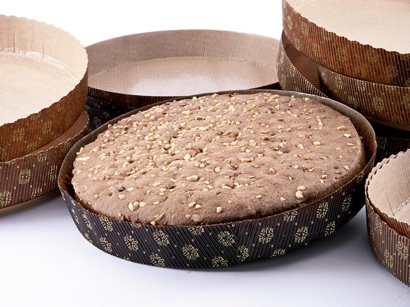Паперові форми для пирогів (гофровані) 185 * 30 Ecopack