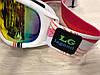 LG0060 Женские горнолыжные маски очки Legend белого цвета, фото 3