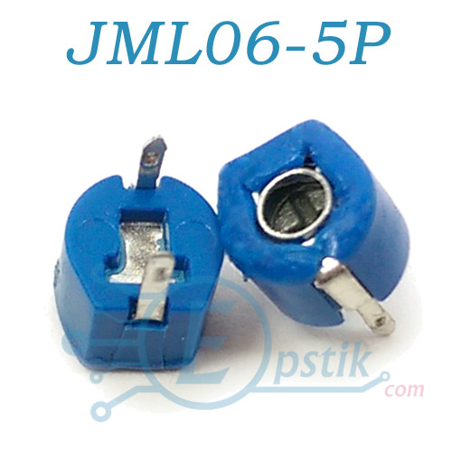 JML06-5P, Конденсато подстроечный, 2.4-5pF