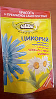 Цикорий Elite Health Line с экстрактами зеленого чая и ромашки 100 гр