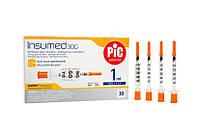 Шприци для інсуліну Insumed PIC 1 мл з голкою 30G х 8 мм