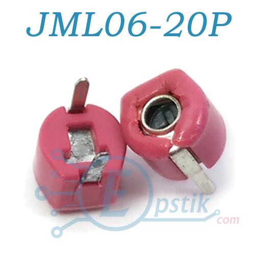 JML06-20P, конденсатор подстроечный, 6.5-20pF