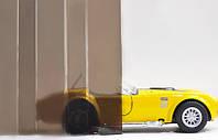 Профилированный монолитный поликарбонат ТМ Borrex 0.8мм 105х300см бронза