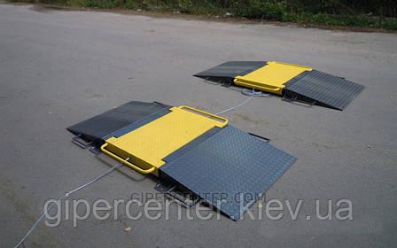 Весы автомобильные подкладные Axis 15-П длина весов 1895мм (max.нагрузка на ось 15тонн), фото 2