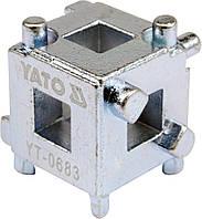 Ключ- куб для поршня дискового тормоза YATO