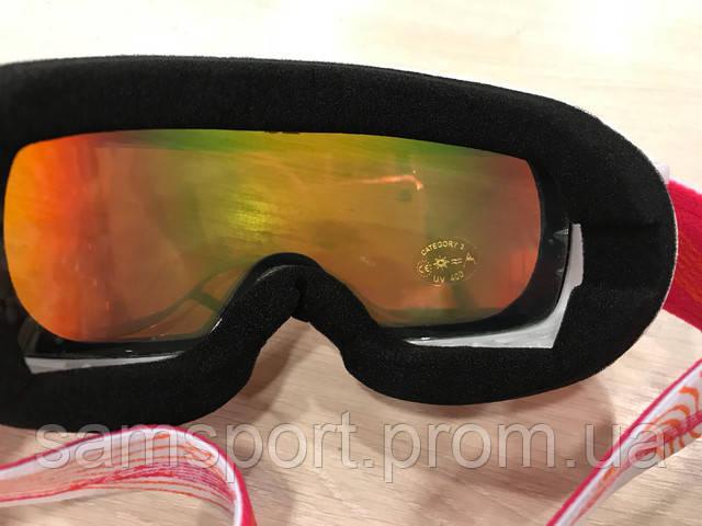 Лыжные маски и очки Legend для женщин.
