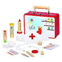 Набор для врача в металлическом чемоданчике Bino (83529)