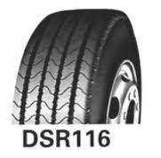 Шина 225/75R17.5 129/127L DoubleStar DSR116 (рульова)