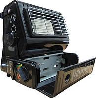 Обігрівач газовий портативний + плитка 1,3 kW Portable Gas Heatеr
