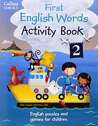 My First English Words Activity Book 2 (рабочая тетрадь)