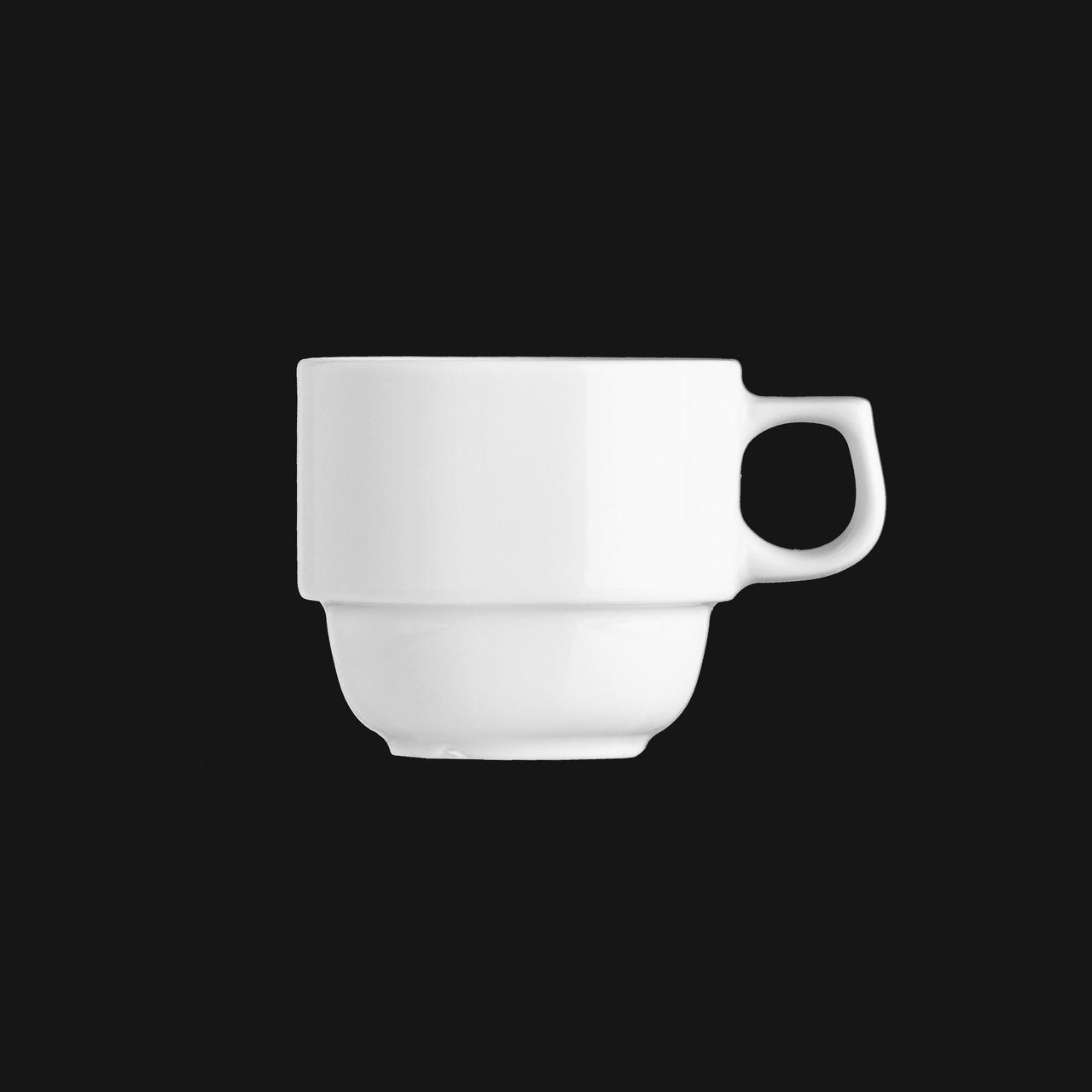 Чашка 110 мл. фарфоровая, белая Praha, G.Benedikt