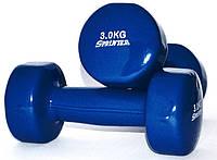 Гантель виниловая 3 кг (пара)