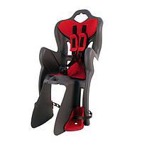 Детское заднее сиденье Bellelli B1 Clamp Серый с красным (SAD-25-48)
