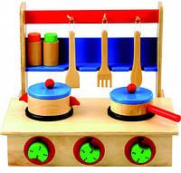Детская деревянная плита Bino (83721)