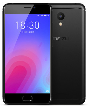 "Смартфон Meizu M6 Black, 2/16Gb, 13/8Мп, 8 ядер, 2sim, экран 5.2"" IPS, 3070mAh, GPS, 4G, Android 7.0"