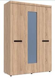 Шкаф с зеркалом на три двери 3д Аризона