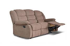 Диван реклайнер Ashley, диван реклайнер, мягкий диван, мебель в ткани