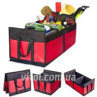 Органайзер в багажник Vitol АС-1537 BK/RD Штурмовик