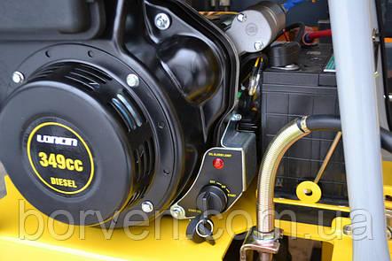 Виброплита дизельная Dro-Masz, 180kg Loncin Diesel, фото 2