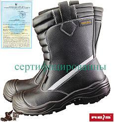 Спецобувь утепленная REIS Польша (рабочие ботинки зимние) BCU
