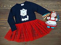 """Платье с фатиновой юбкой """"Puppy"""" для девочки р.92-116, фото 1"""
