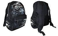 Рюкзак городской CONVERSE (PL, р-р 40x32x12см, черный, синий, серо-синий))