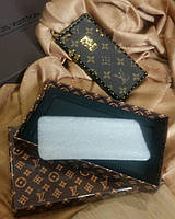 Чехол для Iphone 6 Louis Vuitton коричневый в подарочной  коробке