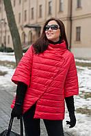 Куртка женская стильная большого размера весенняя р. 48-56 52