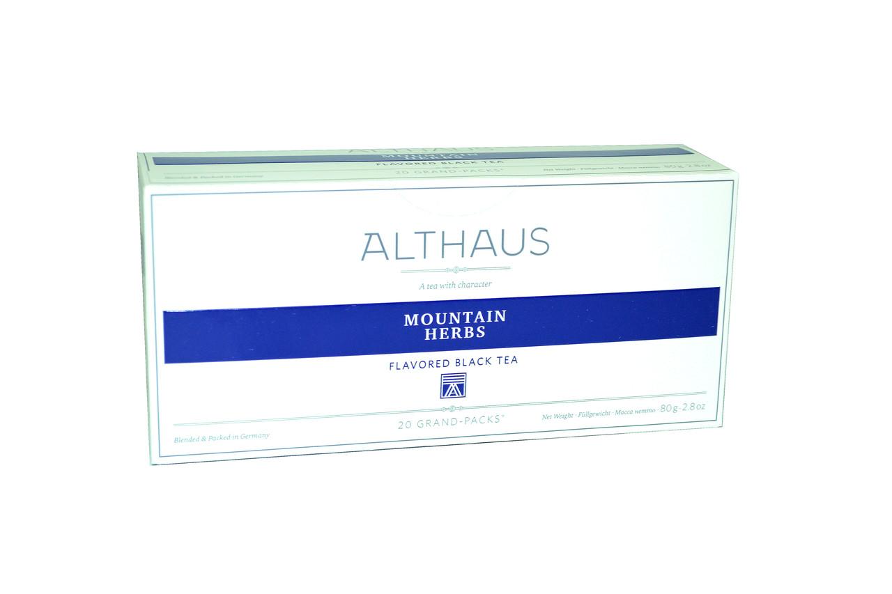 Чай Althaus Grand Packs Mountain Herbs 20x4g(10)