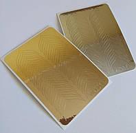 Наклейки из  фольги  М-001 ( золото  или серебро ) , фото 1