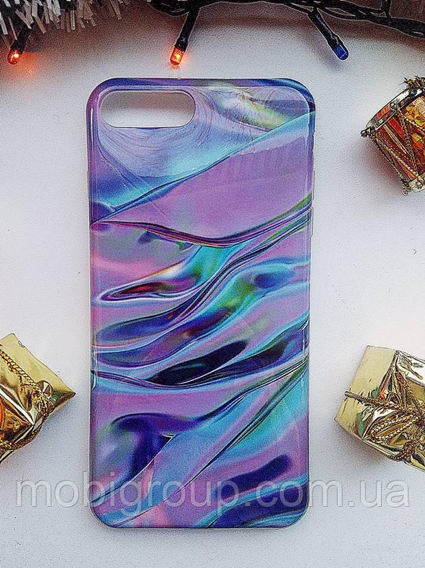 Силиконовый чехол Фиолетовый лак для iPhone 7 Plus