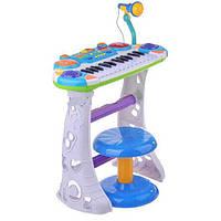 Пианино Joy Toy 7235 Музыкант Голубое