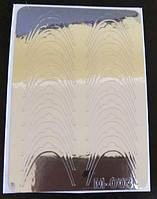 Наклейки из  фольги  М-003, фото 1