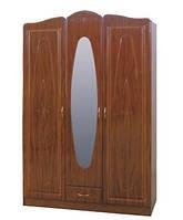 Шкаф для одежды с зеркалом Милениум 3д