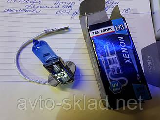 Лампочка авто Н3 12V 55W Xenon Tes-lamps